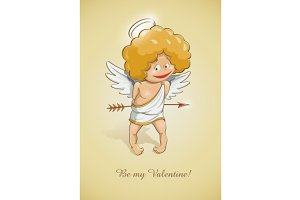 angel cupid for valentine's day