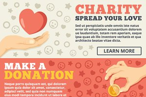 Charity Web Banner Concepts