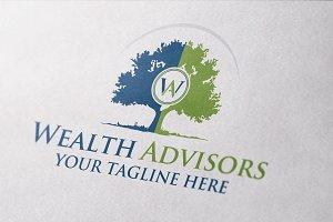 Wealth Advisor Logo Template