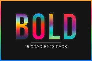 BOLD - 15 Creative Gradients