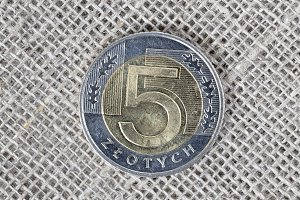 5 zloty coin of Poland