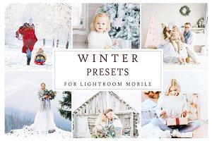 Lightroom Mobile WINTER PRESETS