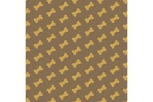 bone for dog seamless texture
