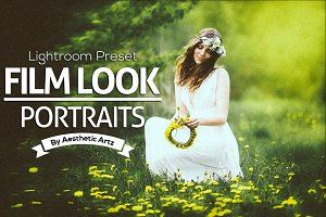 Film Look Portraits Lightroom Preset