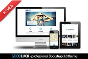 Goodluck - awesome Bootstrap theme