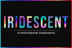15 Iridescent Gradients