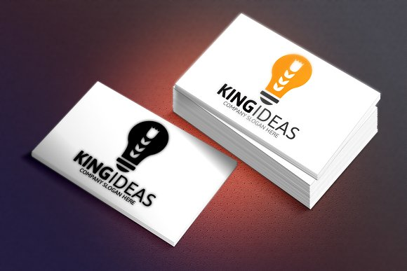 King Ideas Logo in Logo Templates - product preview 1