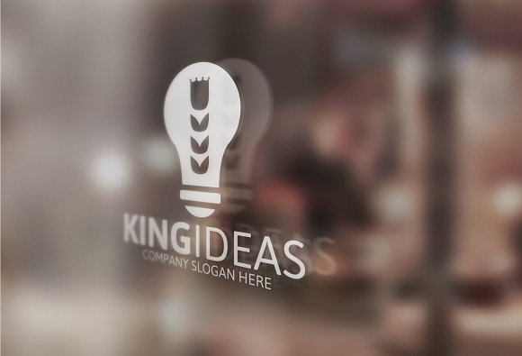 King Ideas Logo in Logo Templates - product preview 3
