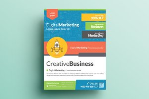 Creative Corporate Flyer V22