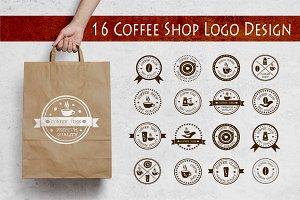 16 Coffee Shop Logo Design