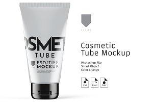 Cosmetic Tube Mockup Gloss