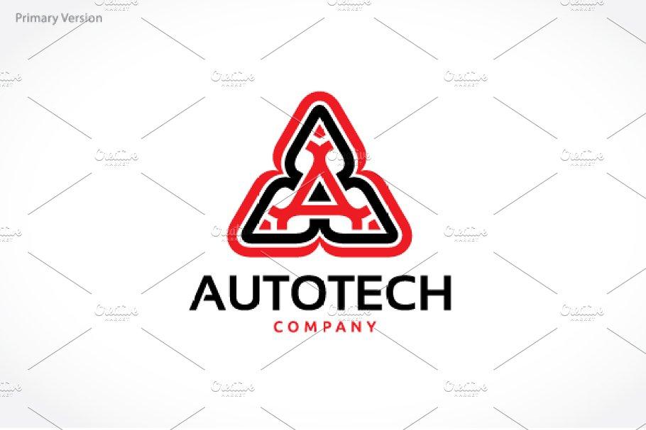Auto Tech   Creative Logo Templates ~ Creative Market