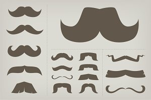 Classic Moustache Collection