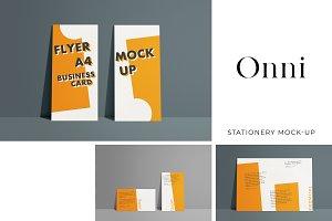 Onni -- Versatile Stationery Mockup