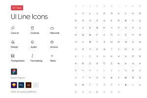 Icon Pack • UI Line Icons