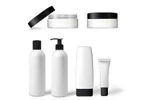 packaging for shampoo, cream, lotion