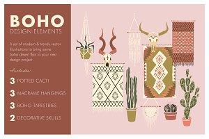 Boho-Desert Design Elements