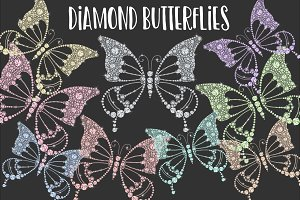 Diamond Butterflies