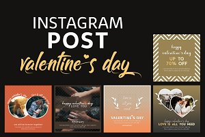 Instagram Post Templates - Valentine