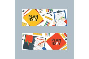To do list or planning icon concept