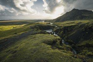 Beautiful landscape in Iceland