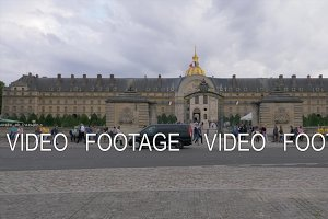 Entry gates of Les Invalides with
