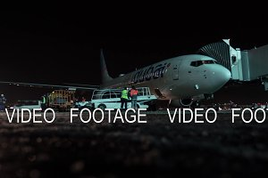 Timelapse of servicing Flydubai