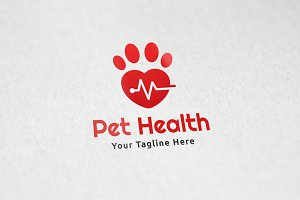 Pet Health - Logo Template