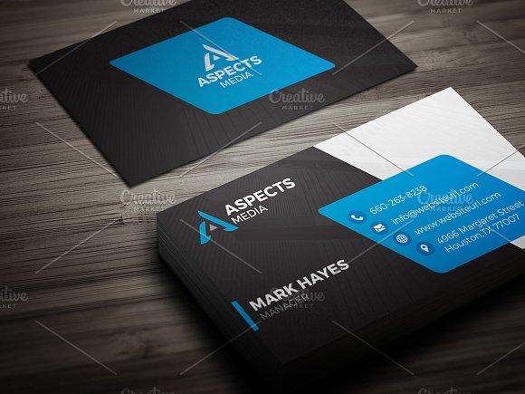 Modern Business Card Template Business Card Templates Creative - Modern business card template