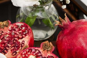 Pomegranate, Coffee Tray