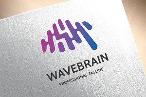 Wave Brain Logo