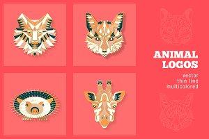 4 Animal Logos