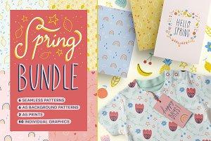 Spring Bundle - Vector patterns