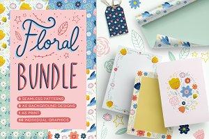 Floral Bundle - Patterns & more