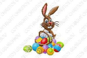 Easter Bunny Pixel Art 8 Bit Game