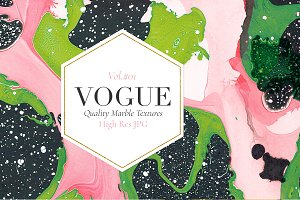 Vogue, Quality Marble Textures Vol.1