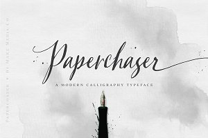 Paperchaser Calligraphy