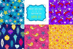 Merry Christmas Super patterns SET