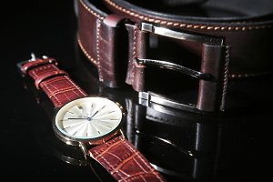 Men's accessories for business and