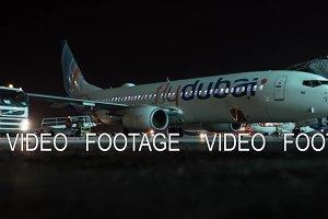 Timelapse of preparing FlyDubai