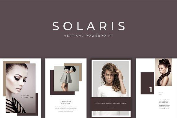 Solaris Vertical PowerPoint