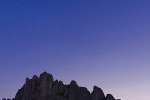 "mountains at night ""montserrat"""