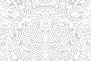 Set of decorative seamless patterns