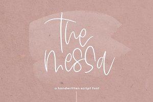 The Messa - Handwritten Script Font