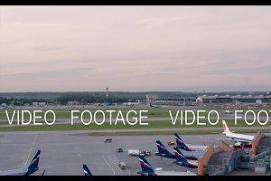 Timelapse of Sheremetyevo Airport