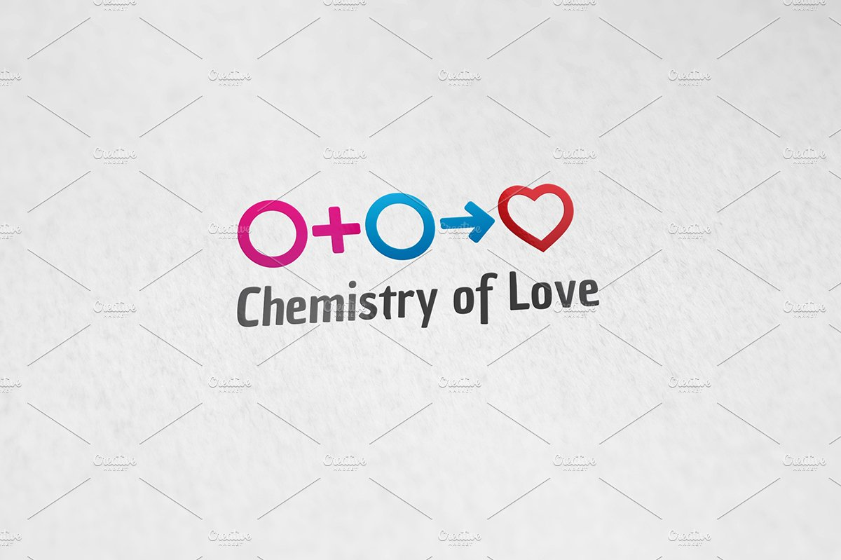 Chemistry of love logo templates creative market fandeluxe Image collections