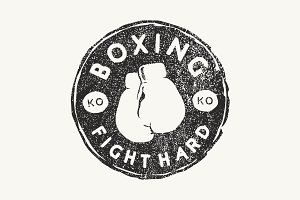 Boxing Fight Hard