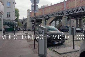 Electric car sharing service Autolib