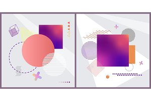 Abstract Patterns Collection Vector
