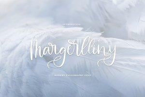 Margerlliny//Modern calligraphy font